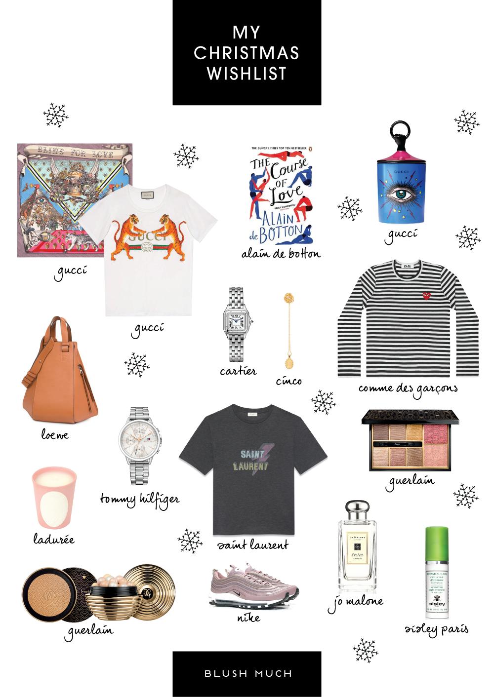 My Christmas Wish List.My Christmas Wishlist Blush Much